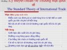 Bài giảng Kinh tế quốc tế: Chương 3 - ĐH Kinh tế TP.HCM