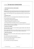 Bài giảng Thị trường tài chính: Chương 4 - Lê Nguyễn Quỳnh Hương