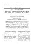 Nhân vật liệt nữ trong Nam Ông mộng lục của Hồ Nguyên Trừng: Điểm gặp gỡ của văn chương với đạo lí và Chính trị