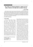 Ảnh hưởng của nồng độ mannose - binding lectin 2 (MBL2) trong cơ chế bệnh sinh của bệnh thận IgA