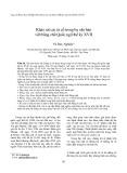 Khảo sát các từ cổ trong ba văn bản viết bằng chữ Quốc ngữ thế kỷ XVII