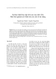 Sự thực hành học tập tích cực của sinh viên: Một thử nghiệm mô hình hóa các yếu tố tác động