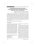 Hiệu quả giảm đau sau mổ và tác dụng không mong muốn của hai liều Morphin tủy sống trong phẫu thuật thay khớp háng