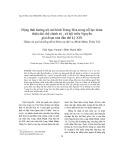Động thái hướng tới mô hình Trung Hoa trong nỗ lực hoàn thiện thể chế chính trị - xã hội triều Nguyễn giai đoạn nửa đầu thế kỷ XIX (Khảo sát qua hệ thống đề thi Đình các đời vua Minh Mệnh, Thiệu Trị)