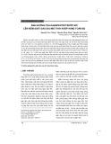 Ảnh hưởng của gabapentin trước mổ lên kiểm soát đau sau mổ thay khớp háng toàn bộ