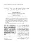 Tư tưởng của Lê Nin về biện pháp kinh tế trong thời kỳ quá độ lên chủ nghĩa xã hội và ý nghĩa đối với Việt Nam