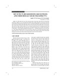 Một số yếu tố liên quan đến rối loạn chuyển hóa lipid ở bệnh nhân cao tuổi đái tháo đường týp 2