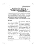 Hiệu quả điều trị đau thần kinh tọa bằng phương pháp vật lý trị liệu - phục hồi chức năng kết hợp xoa bóp bấm huyệt
