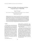 Những truyền thống văn hóa dân gian Việt Nam trong kiểu truyện về Thánh Mẫu