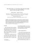 Học thuyết đức trị và vấn đề xây dựng nhà nước pháp quyền xã hội chủ nghĩa Việt Nam