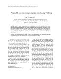 Phẩm chất nhà báo trong sự nghiệp văn chương Vũ Bằng