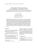 """Phương pháp hệ thống trong tìm hiểu """"văn hóa nhận thức"""" truyền thống Việt Nam (Áp dụng phương pháp hệ thống vào việc dạy - học bài Văn hóa nhận thức trong Giáo trình Cơ sở văn hóa Việt Nam của GS.TS. Trần Ngọc Thêm)"""