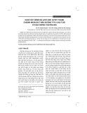 Khảo sát nồng độ acid uric huyết thanh ở bệnh nhân đái tháo đường typ 2 cao tuổi có hội chứng chuyển hóa