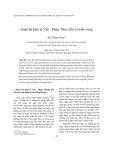 Quan hệ kinh tế Việt - Pháp: Thực tiễn và triển vọng