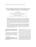 Tiếp cận hệ thống an sinh xã hội: Sự chênh lệch giữa cư dân khu vực thành thị và nông thôn ở Việt Nam hiện nay