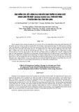 Ảnh hưởng của liều lượng kali bón đến sinh trưởng và năng suất khoai lang tím Nhật (Ipomoea batatasLam.) trên đất phèn ở huyện Bình Tân, tỉnh Vĩnh Long