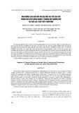 Ảnh hưởng của biến đổi khí hậu đến vai trò của giới trong sản xuất nông nghiệp: trường hợp nghiên cứu tại Giao Lạc, Giao Thủy, Nam Định