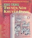 Ebook Kho tàng truyện Nôm khuyết danh Việt Nam (Tập 1): Phần 1 - NXB Văn học