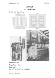 Bài giảng Máy điện: Chương 2 - Máy biến áp