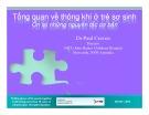 Bài giảng Tổng quan về thông khí ở trẻ sơ sinh: Ôn lại những nguyên tắc cơ bản