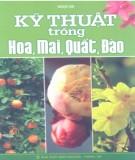 Ebook Kỹ thuật trồng hoa, mai, quất, đào: Phần 2 - Ngọc hà