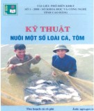 Ebook Kỹ thuật nuôi một số loài cá, tôm: Phần 2