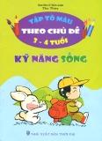 Ebook Bé tập tô màu theo chủ đề kỹ năng sống - Nguyễn Hà My