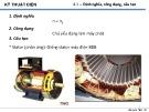 Bài giảng Kỹ thuật điện Chương 4: Máy điện đồng bộ