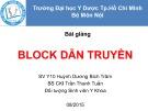 Bài giảng Block nhĩ thất -  BS.CKI. Trần Thanh Tuấn