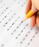 Đề kiểm tra môn Tiếng Anh lớp 9 - Đề số 1