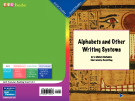 Ebook Alphabets and other writing systems