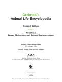 Ebook Grzimek's animal life Encyclopedia Volume 12 Lower Metazoans and Lesser Deuterostome