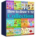Ebook How to Draw Collection 1-12 - Amit Offir
