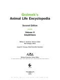 Ebook Grzimek's animal life encyclopedia Volume 6 Amphibians