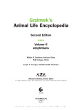 Grzimek's animal life encyclopedia Volume 6 Amphibians