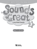Ebook Sounds great Long vowel sounds 3 - Workbook