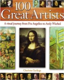 Ebook 100 Great Artists: A Visual Journey from Fra Angelico to Warhol