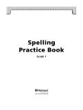 Ebook Spelling practice book Grade 1