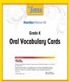Treasures Grade K - Oral Vocabulary Cards