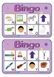 Vocabulary Bingo N-Z