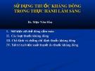Bài giảng Sử dụng thuốc kháng đông trong thực hành lâm sàng - BS. Mạc Văn Hòa