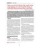 Nâng cao tuổi thọ khuôn dập nguội trong công nghiệp sản xuất hàng tiêu dùng và xuất khẩu bằng phương pháp nhiệt điện