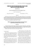 Phương pháp phân tích thành phần chính và phân tích chùm trong xử lí số liệu thống kê nhiều chiều