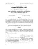 Khả năng sinh sản của ba ba gai (Tryonyx cartilagineus) tại Sơn La