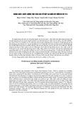 Năng suất, chất lượng thịt của các tổ hợp lai giữa vịt Đốm và vịt T14