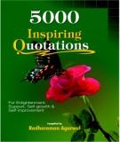 Ebook 5000 Insppiring quotations - Phần 2