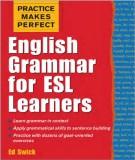 Ebook English grammar for ESL learners – Phần 2