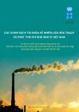 Chính sách tài khóa về nhiên liệu hóa thạch và phát triển khí nhà kính ở Việt Nam