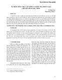Tự động hóa việc cấp phôi và kiểm tra phân loại chi tiết hình trụ trơn