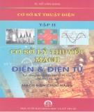 Ebook Cơ sở kỹ thuật điện -  Cơ sở lý thuyết mạch điện và điện tử, lý thuyết và bài tập giải sẵn MATLAB (Tập 2): Phần 1